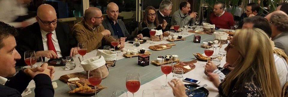 jantar de networking